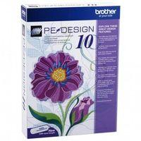 Hafciarki przemysłowe, Program do projektowania haftów Brother PED 10