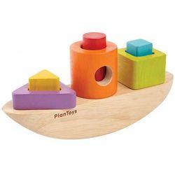 Plan Toys Łódź z kształtami do układania - BEZPŁATNY ODBIÓR: WROCŁAW!