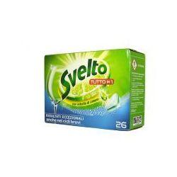 Svelto Zielona Cytryna - Tabletki do zmywarki (26 szt.)