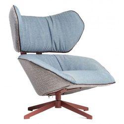 Fotel Bron niebieski