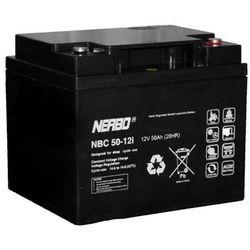 Akumulator AGM NERBO NBC 50-12i (12V 50Ah)