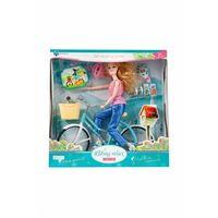 Lalki dla dzieci, MC Lalka CM + rower 3Y37IW Oferta ważna tylko do 2031-09-09