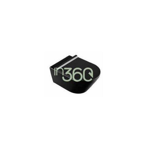 zero miska wc wisząca 55x35 czarny +śruby mocujące new (5kfst00) 1vs55nne marki Catalano