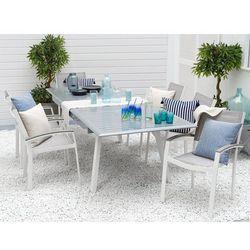 Stół ogrodowy szary rozkładany 175/255 x 100 cm PERETA