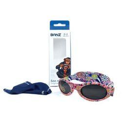 Okulary przeciwsłoneczne dzieci 0-2lat UV400 BANZ - Peace
