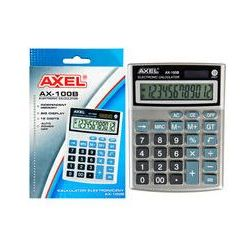 Kalkulator AXEL AX-100B 346808. Darmowy odbiór w niemal 100 księgarniach!