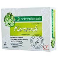 Preparaty ziołowe, Karczoch 20mg 30 tabletek Colfarm