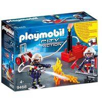 Klocki dla dzieci, Playmobil ® City Action Strażacy z pompą gaśniczą 9468