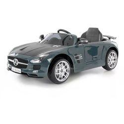 Hecht samochodzik dziecięcy - Mercedes Benz SLS AMG, szary