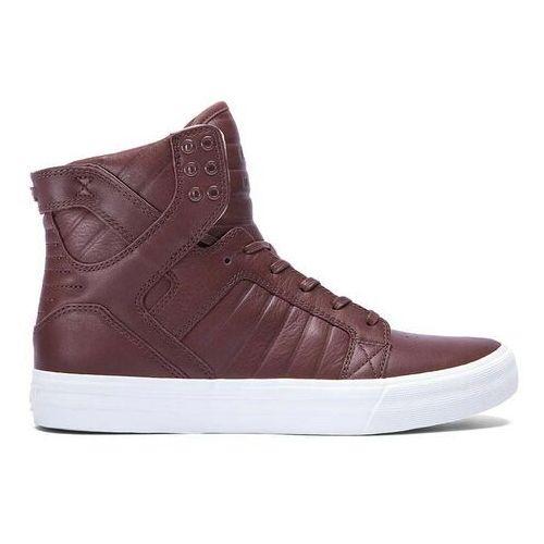 Męskie obuwie sportowe, buty SUPRA - Skytop Hf Chocolate-Off White (CHO) rozmiar: 41