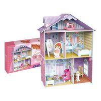 Puzzle, PUZZLE 3D Domek dla lalek Mały Artysta