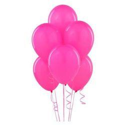 Balony lateksowe pastelowe fuksjowe - 11 cali - 100 szt.
