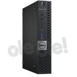 Zestaw komputerowy Dell Optiplex 7050 MFF (N007O7050MFF02W10PL) Darmowy odbiór w 21 miastach!