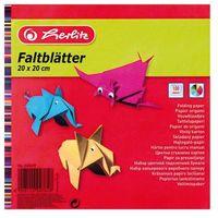 Pozostałe artykuły papiernicze, Papieri origami kolorowy 20x20cm/100ark