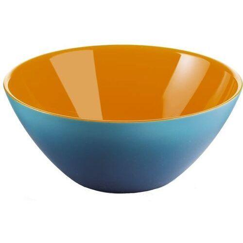Misy i miski, Guzzini - My Fusion - misa 25 cm, niebiesko - pomarańczowa - pomarańczowy ||niebieski