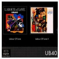 Dub, reggae, ska, Labour Of Love I + Labour Of Love II - Ub 40