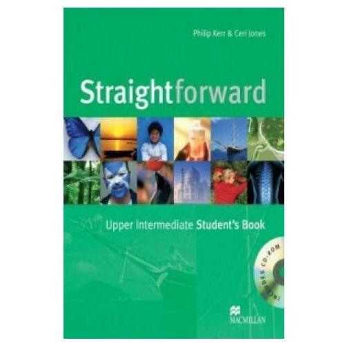 Książki do nauki języka, Straightforward upper-intermediate Student`s book + Cd (opr. miękka)
