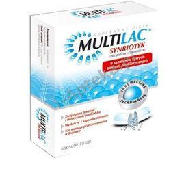 MULTILAC Synbiotyk (Probiotyk + Prebiotyk) x 10 kapsułek