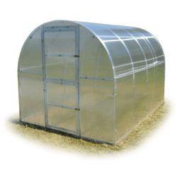 Tunel szklarnia Omega poliwęglanowa 6 mm stal ocynk. 2x4