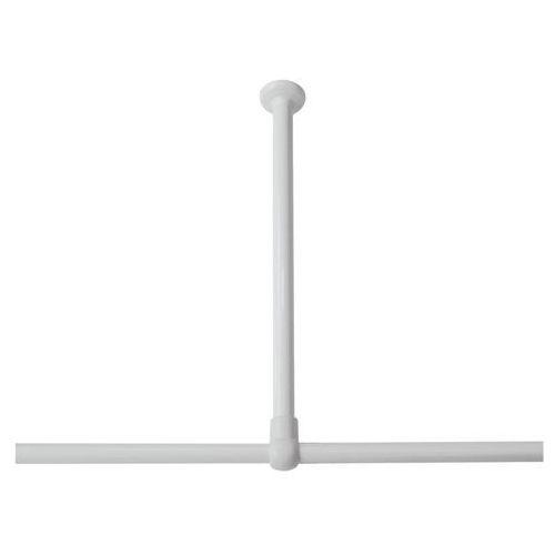 Sealskin wspornik sufitowy seallux, 60 cm, biały, 276668610