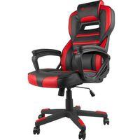 Fotele dla graczy, Fotel GENESIS Nitro 350 Czarno-czerwony