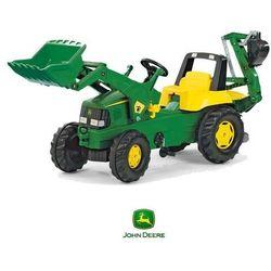 Rolly Toys rollyJunior Traktor na Pedały John DEERE + Łyżka + Tur ❤STREFADZIECIAKOW.PL❤