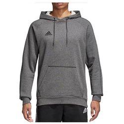 Bluza Adidas meska bawelniana kaptur Core 18 CV3327
