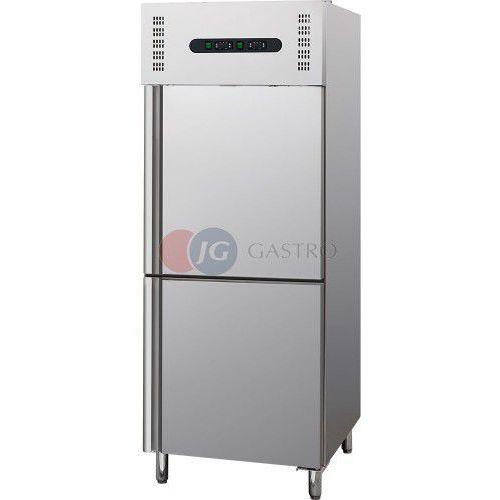 Szafy i witryny chłodnicze, Szafa chłodniczo-mroźnicza 1-drzwiowa 300 + 300 l Stalgast 840602