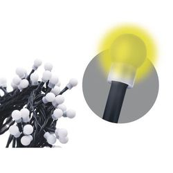EMOS lampki świąteczne 80 LED - kule 8 + 5m, ciepły biały