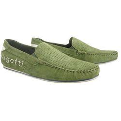 BUGATTI 321-70460-3400 7000 green, mokasyny męskie