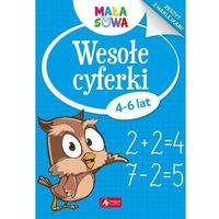 Książki dla dzieci, Wesołe cyferki - Praca zbiorowa (opr. miękka)