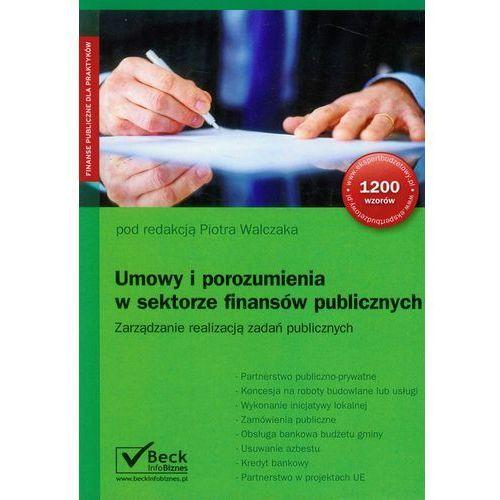 Biblioteka biznesu, Umowy i porozumienia w sektorze finansów publicznych (opr. miękka)