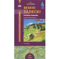 Mapy i atlasy turystyczne, Beskid Sądecki Przełom Popradu Mapa turystyczna 1: 50 000 (opr. broszurowa)