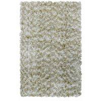 Dywany, Dywan shaggy DUNE ciemnobeżowy 80 x 150 cm