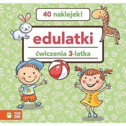 Książki dla dzieci, Edulatki Ćwiczenia 3-latka (opr. miękka)