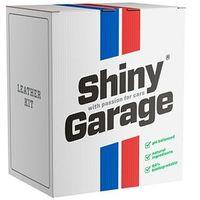 Środki do czyszczenia tapicerki samochodowe, Shiny Garage Leather Kit Soft zestaw do tapicerki skórzanej