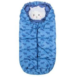 Niebieski śpiworek w owieczki