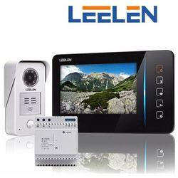 Leelen LEELEN Wideodomofon 7cali JB305_N60/No15nc+DIN+3xbrelok (z czytnikiem): Kolor monitora - biały, Lakierowanie stacji bramowej (paleta RAL) - tak JB305_N60w_No15nc_DIN + RAL - Rabaty za ilości. Szybka wysyłka. Profesjonalna pomoc techniczna.