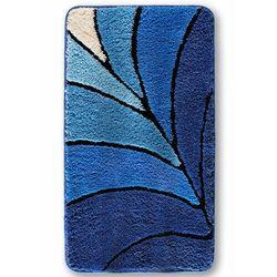 Dywaniki łazienkowe z wysokim runem bonprix niebieski