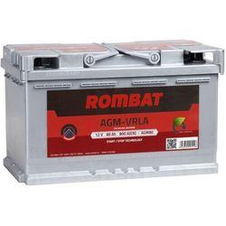 Akumulator ROMBAT AGM START&STOP 80Ah 800A