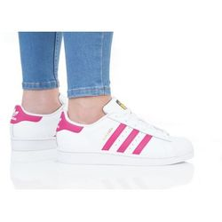 adidas Originals SUPERSTAR FOUNDATION Tenisówki i Trampki white/bold pink