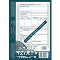 Druki akcydensowe, Formularz przyjęcia odpadów metali Michalczyk&Prokop E03-3 - A5 (oryginał+kopia)