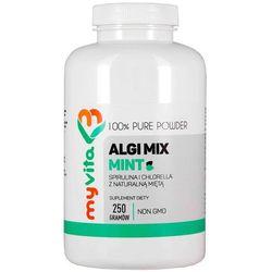 Algi Mix Mint (Spirulina i Chlorella), 250g Myvita