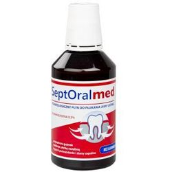 SeptOral Med płyn do płukania jamy ustnej 0,2% CHX 300 ml