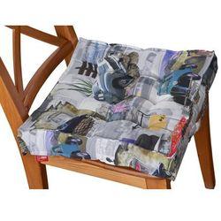 Dekoria Siedzisko Kuba na krzesło, samochody retro, 40 × 40 × 6 cm, Freestyle do -30%