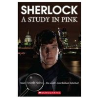 Książki do nauki języka, Scherlock: A Study In Pink + Cd (opr. miękka)