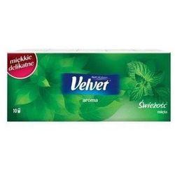 Velvet Aroma Chusteczki higieniczne mięta 10 x 9 szt.
