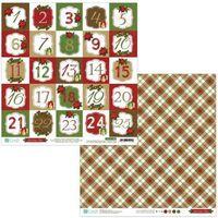 Kreatywne dla dzieci, Papier dwustronny 30,5 x 30,5 cm - Christmas Time 08, 5 szt. (PYDU-011-P08)