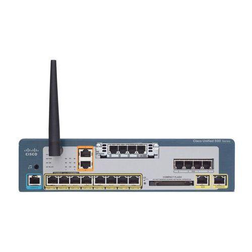 Pozostały sprzęt sieciowy, CISCO UC520W-16U-2BRI-K9 16U CME Base CUE and Phone FL w/2BRI 1VIC WIFI