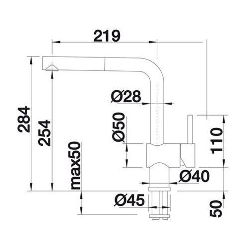 Baterie do kuchni, Bateria Blanco Linus -s 516710